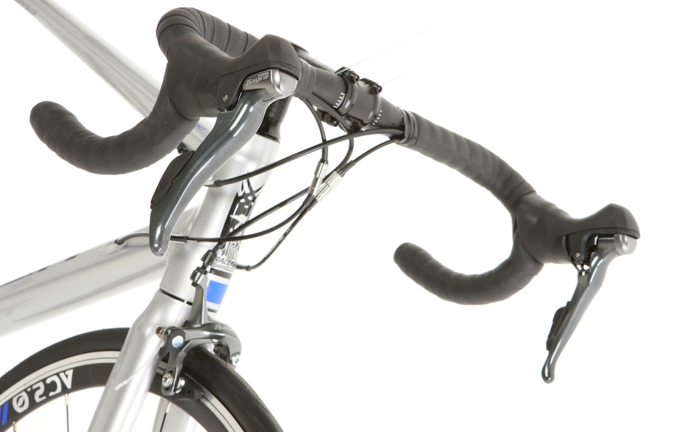 New Tiagra shifters: no gear indicator windows and under-bartape cabling