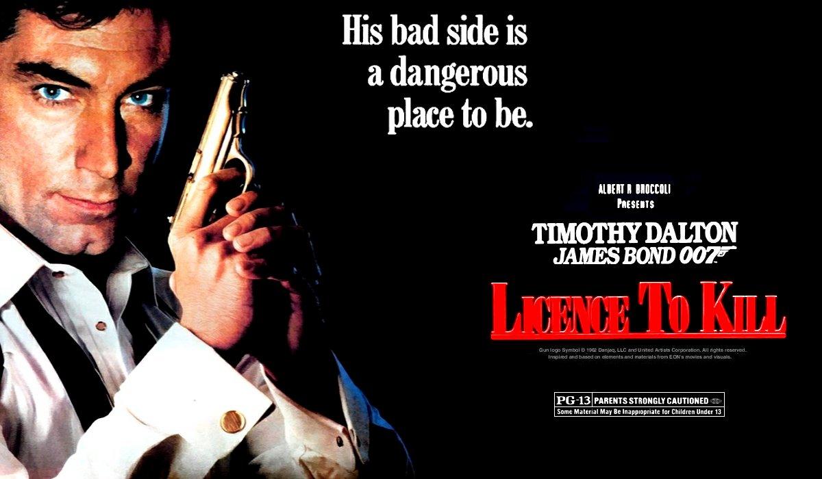 License To Kill teaser poster art
