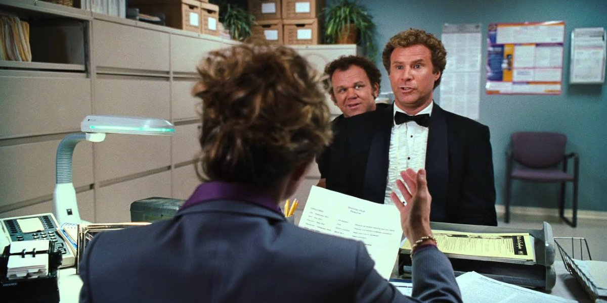 John C. Reilly and Will Ferrell in Step Brothers