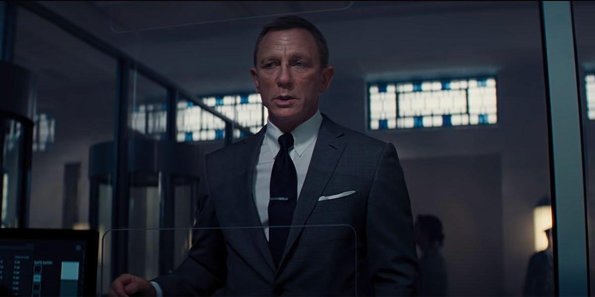 Daniel Craig in final James Bond movie No Time To Die