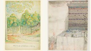 Art by JRR Tolkien