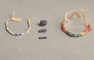 Egyptian Necklaces & Iron Beads