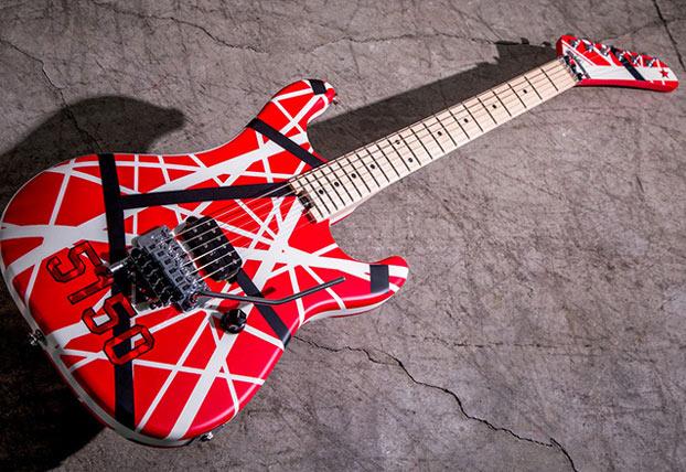 e61f7c1c6e4 NAMM 2017  EVH Announces New EVH Striped Series 5150 Guitar Based on the  Original
