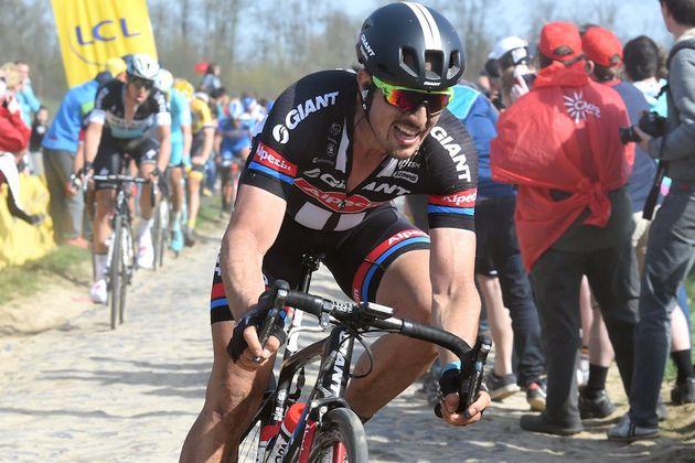 John Degenkolb in the 2015 Paris-Roubaix