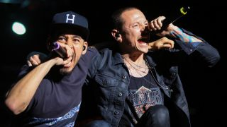 Mike Shinoda and Chester Bennington, Rock On The Range 2015