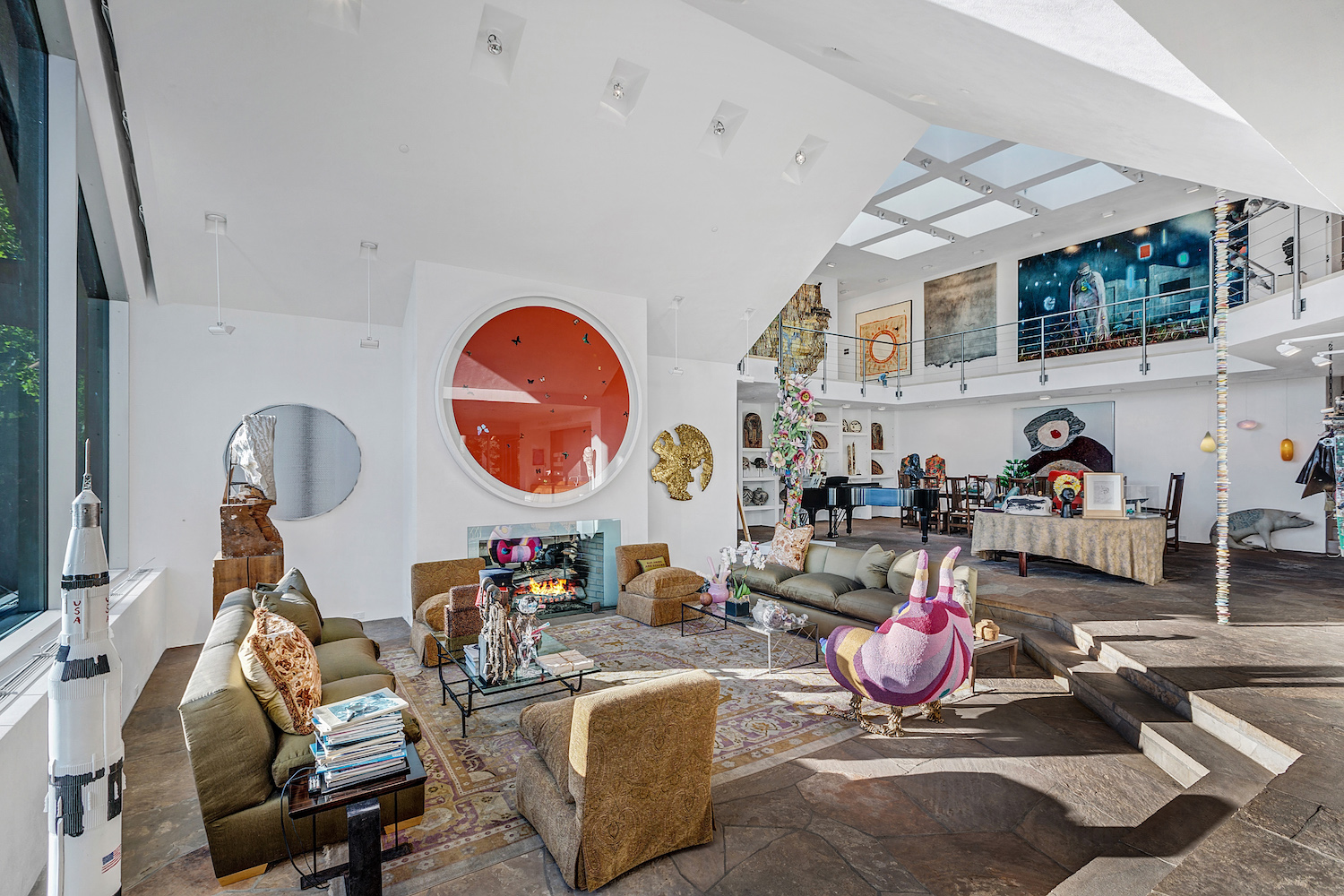 Private Gallery For Sale: This striking home doubles as a private art gallery