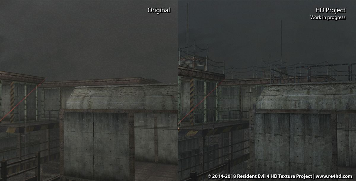 Resident Evil 4 HD Project mod remakes The Island, prepares for