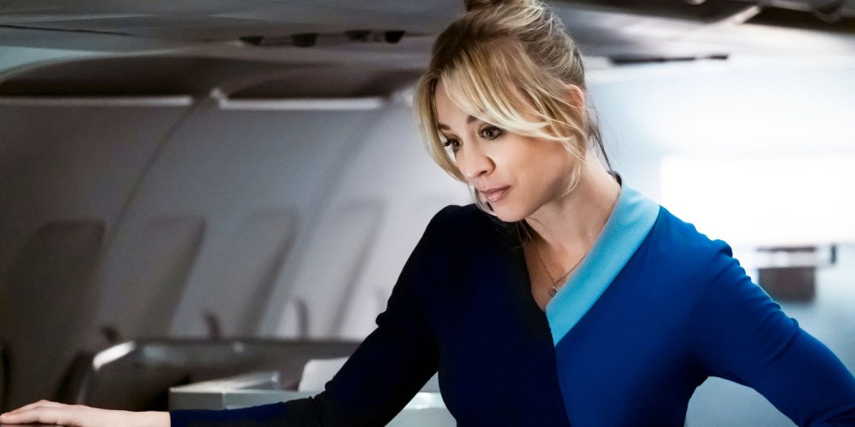 Kaley Cuoco in The Flight Attendant on HBO Max.