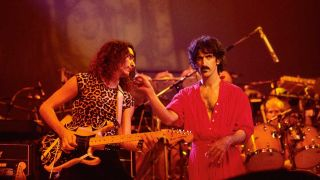 Steve Vai and Frank Zappa