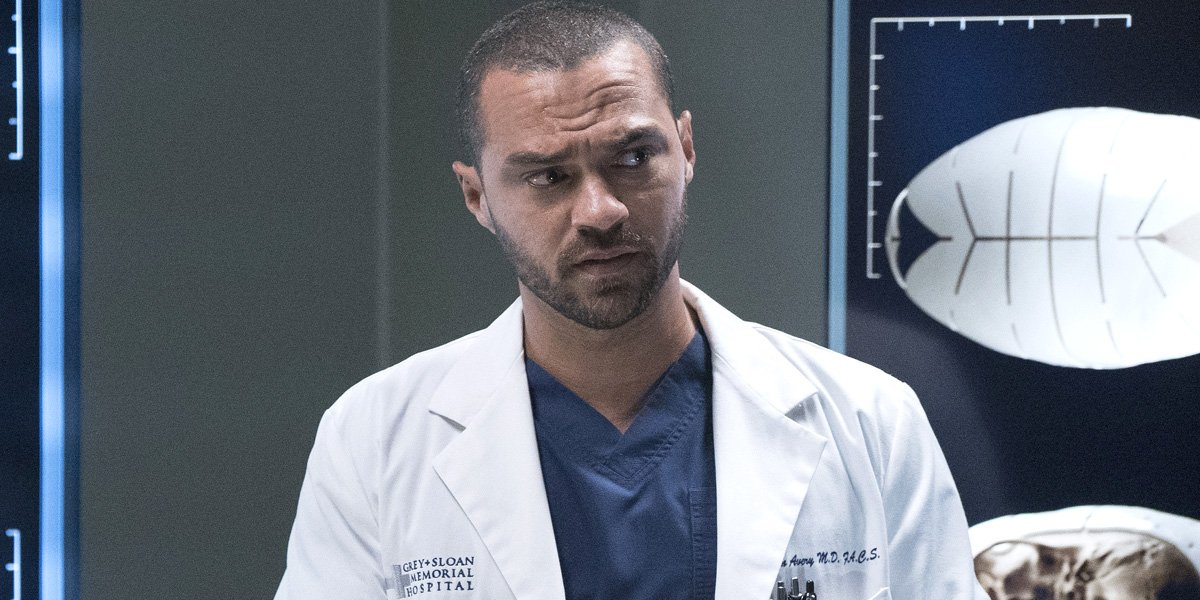 Jesse Williams as Jackson Avery in Grey's Anatomy Season 16 on ABC