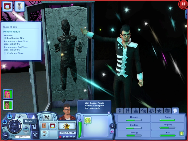 The Sims 3 Showtime Expansion Pack Review: Music, Magic And Acrobatics #21055