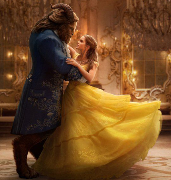 the beast on stilts in beauty and the beast
