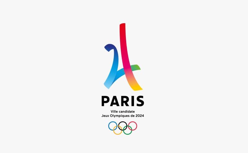 Paris 2024 concept logo