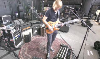 Trey Anastasio demonstrates some of his effects pedals