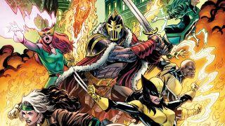 Death of Doctor Strange: X-Men/Black Knight #1