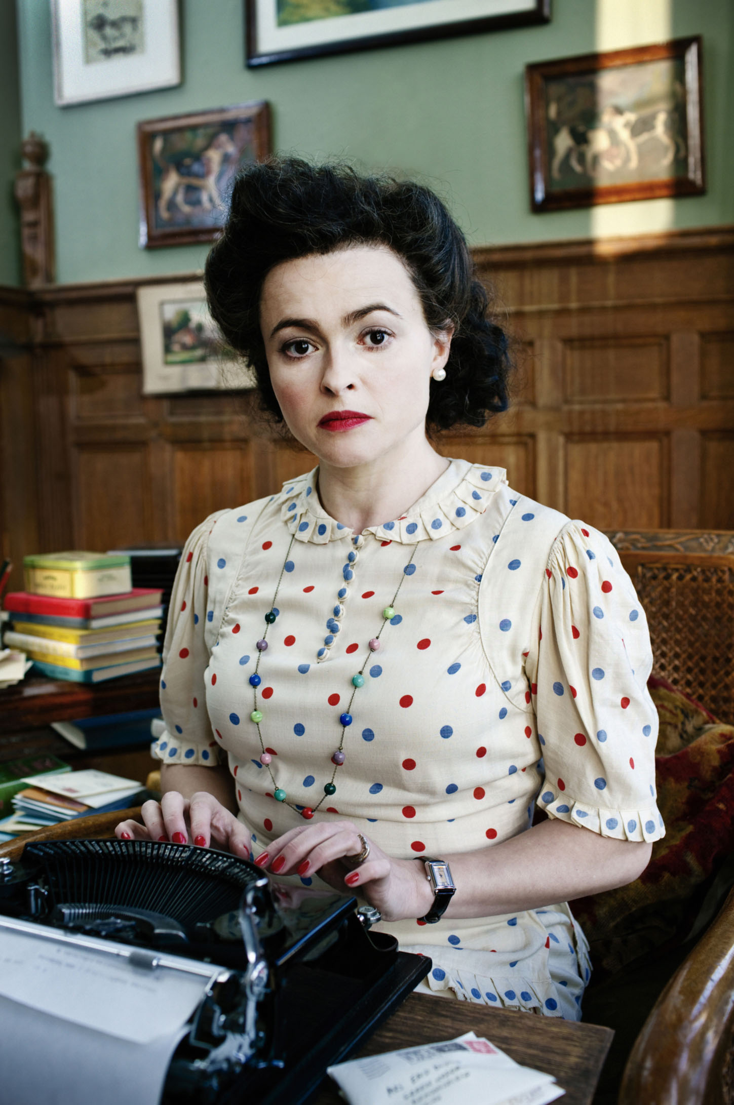 Helena Bonham Carter on playing Enid Blyton