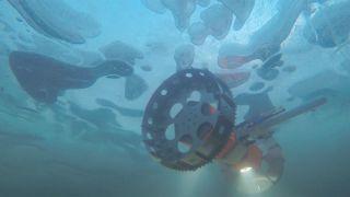 A prototype undersea rover called BRUIE being tested in Alaska in 2015.