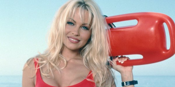 Pamela Anderson on Baywatch