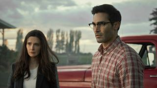 Elizabeth Tulloch as Lois Lane and Tyler Hoechlin as Clark Kent in The CW's 'Superman & Lois'