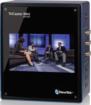 NewTek Expands TriCaster Mini Line With New HD-SDI Model