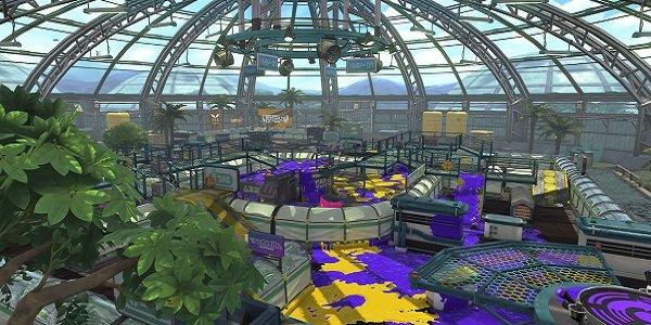 The Kelp Dome Splatoon 2 Map