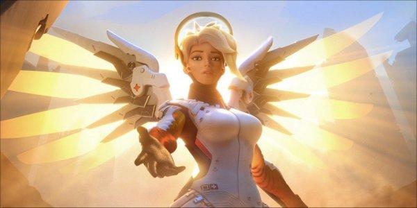 Overwatch Mercy Update