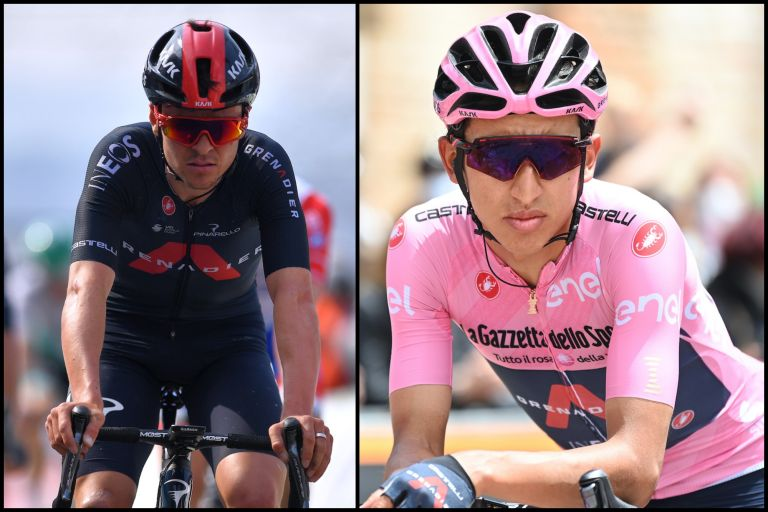 The Ineos Grenadiers squad for the Vuelta a España 2021