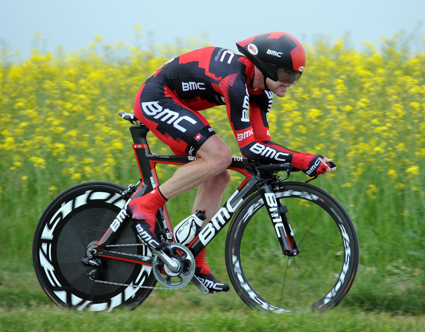 Cadel Evans, Tour de Romandie 2011, stage four ITT