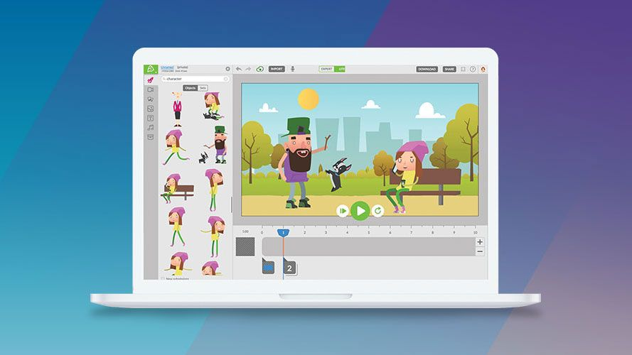 Create your own animations easily with this tool