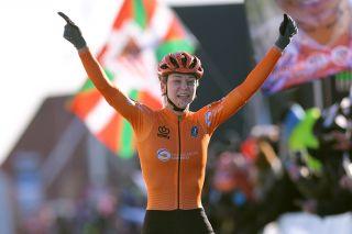 Inge Van Der Heijden (Netherlands) wins world title in Bogense
