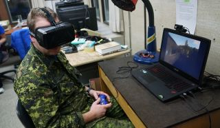 Virtual Reality Test in High Arctic
