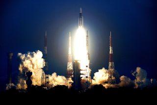 GSLV Mk III rocket launch