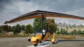 pubg glider spawns