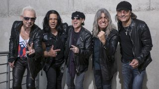 Mikkey Dee with Scorpions