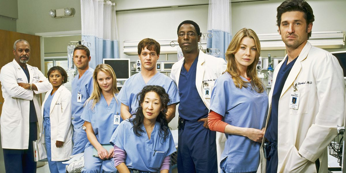 Some of the cast of Grey's Anatomy.