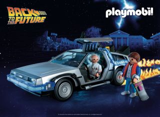 "Playmobil will go back in time in May 2020 with three new sets from the ""Back to the Future"" film franchise."