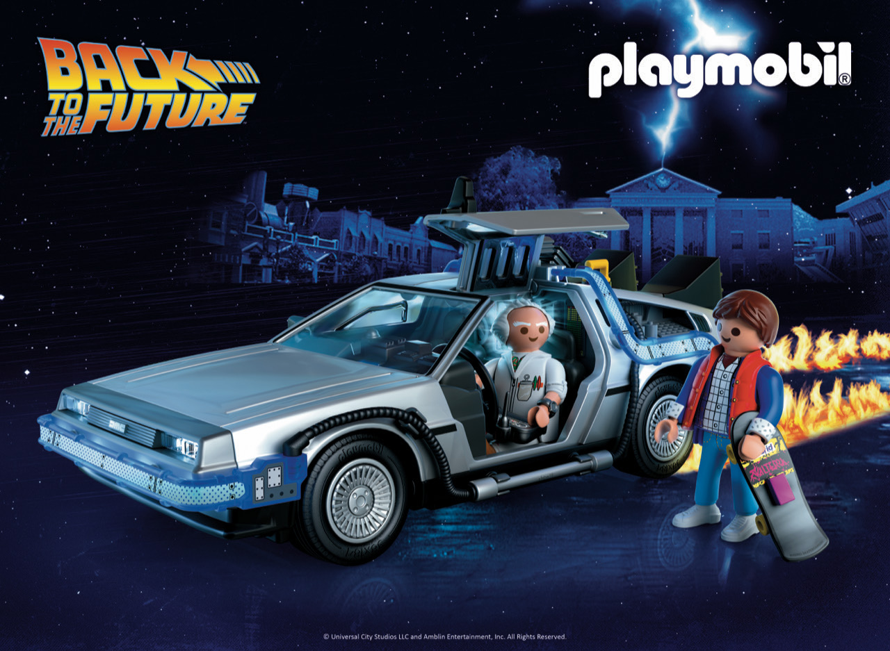 Playmobil Is Going Back To The Future In 2020 Space