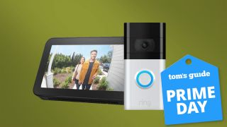 Ring Video Doorbell and echo show 5 bundle prime day deal