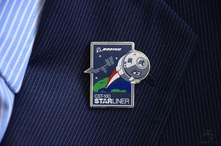 CST-100 Starliner Pin