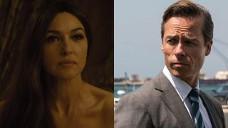 Monica Bellucci and Guy Pearce