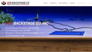 Ace Backstage New Website