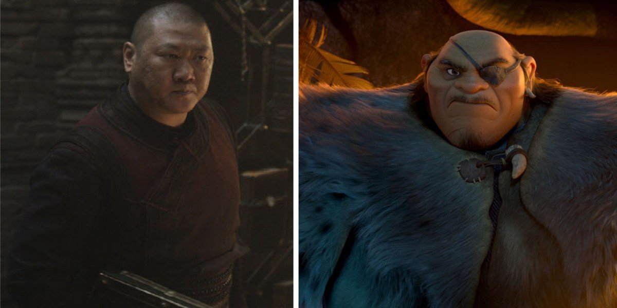 Benedict Wong - Doctor Strange/ Tong in Raya and the Last Dragon