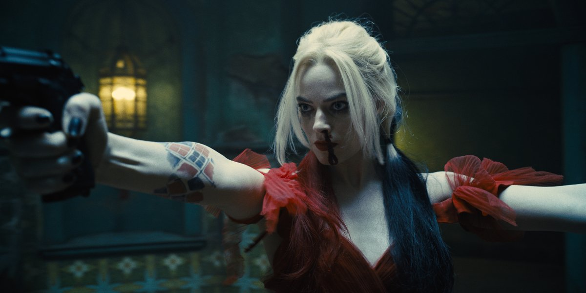 Harley Quinn (Margot Robbie) in The Suicide Squad