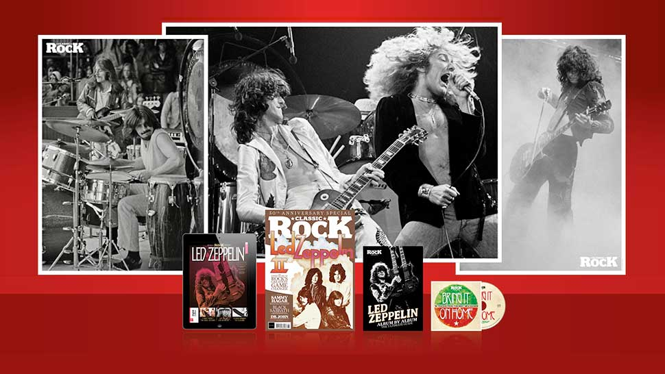 The making of Led Zeppelin II: only in the new, gift-packed edition of Classic Rock | Louder