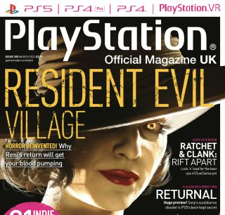 Lady Dumitrescu just about makes the cover of Official PlayStation Magazine