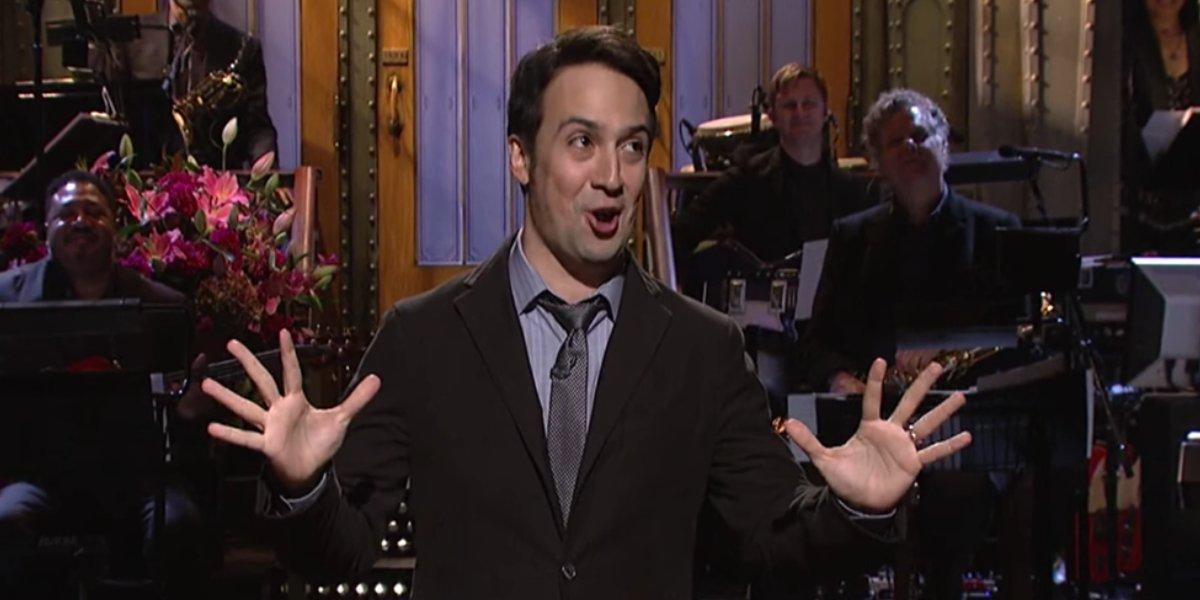 Lin-Manuel Miranda hosting Saturday Night Live