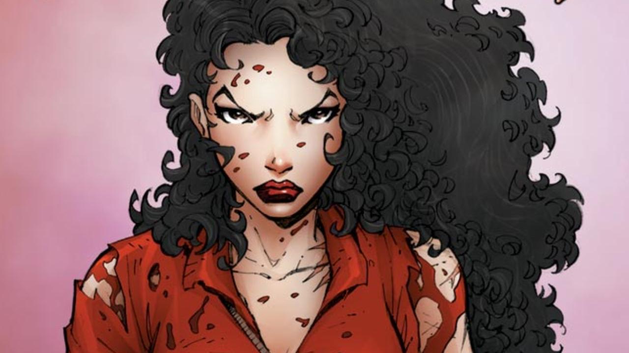 Vampire hunter Anita Blake from Marvel Comics