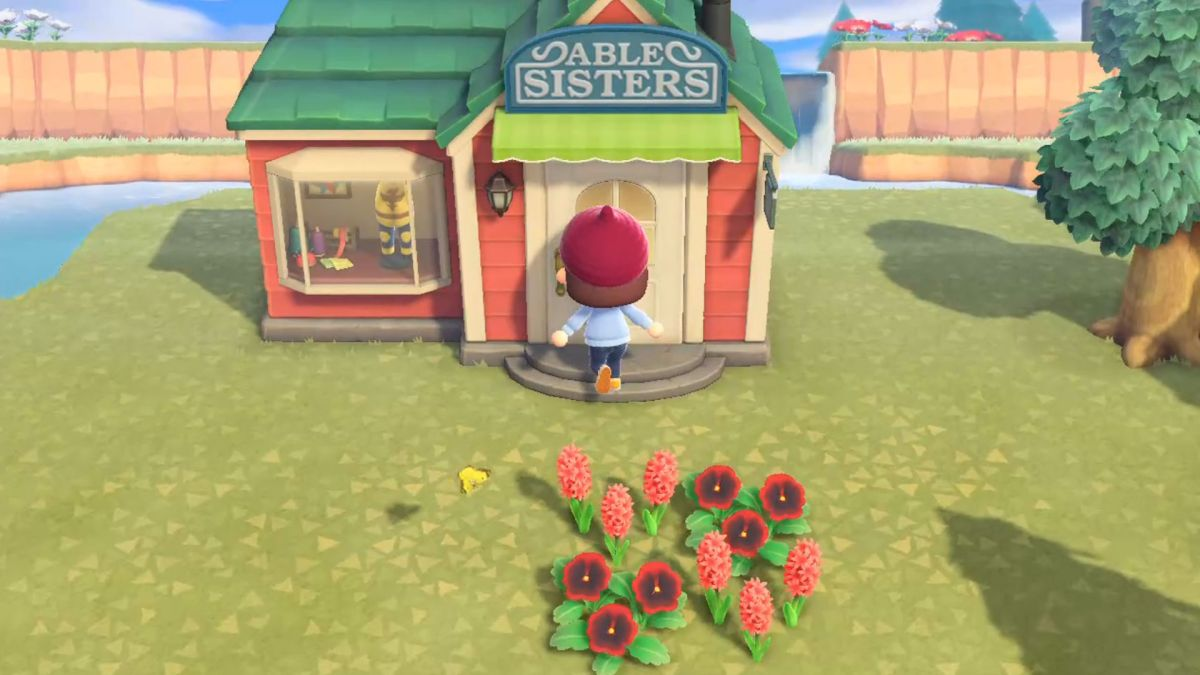 How To Unlock Able Sisters In Animal Crossing New Horizons Gamesradar