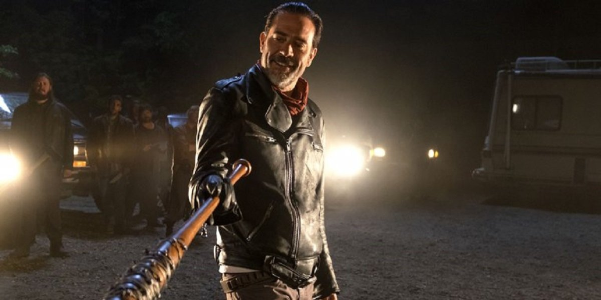 Jeffery Dean Morgan as Negan in The Walking Dead