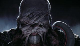 Resident Evil 3 scary face guy